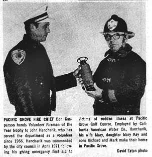 Don Gasperson and John Hancharik