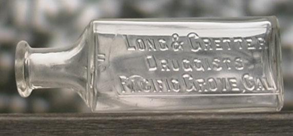 Long and Gretter bottle